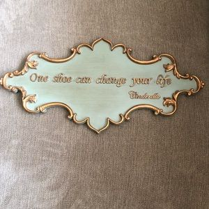 Cinderella Quote Decorative Sign